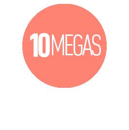 INTERNET HASTA 10 MEGAS