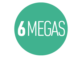 INTERNET HASTA 6 MEGAS