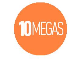 INTERNET COMERCIAL HASTA 10 MEGAS