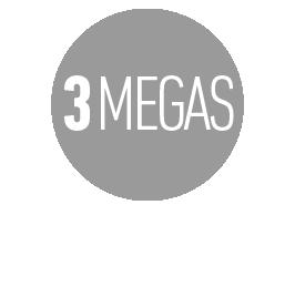INTERNET COMERCIAL HASTA 3 MEGAS