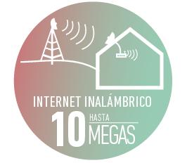 INTERNET INALÁMBRICO 10 MEGAS