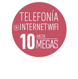 PROMO HOGAR Telefonía + Internet wifi hasta10 megas