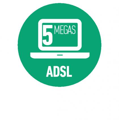Internet ADSL 5 Mbps