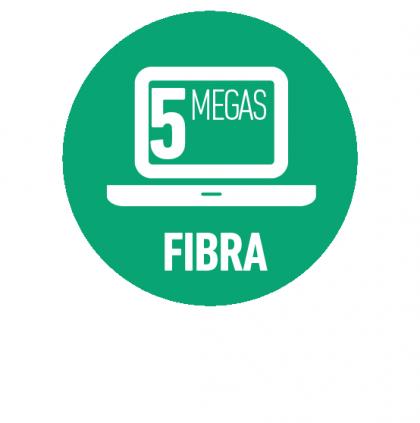 Internet Fibra Óptica 5 Mbps
